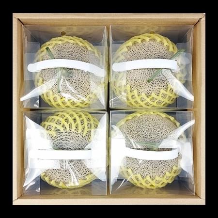 프리미엄 왕메론 선물세트 8kg (4통)