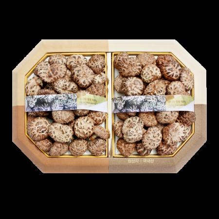 표고버섯 팔각 흑화고세트 (소)
