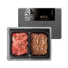 경복궁 불고기 갈비 혼합세트 1.6kg