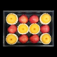 프레시벨리 프리미엄 사과 배 혼합선물세트 5.5kg 내외 (사과 6과 + 배 6과)
