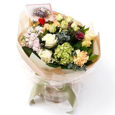애플민트 꽃다발