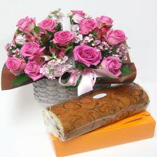 핑크핑크+롤케이크 1종