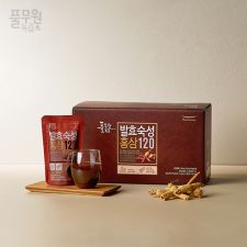 풀무원 발효숙성 홍삼 120