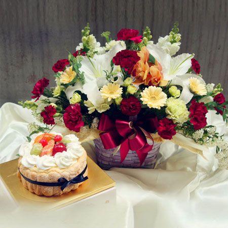 행복한 인생+케이크