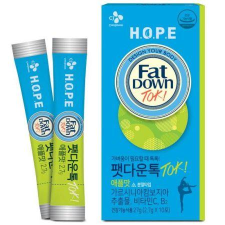 HOPE 팻다운톡 애플 x 3개