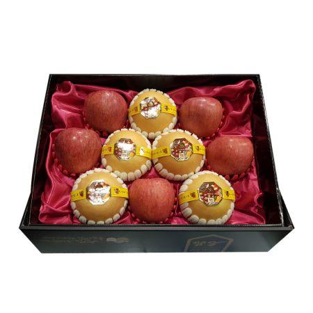 가락시장 서울청과 한아름명품 사과배 혼합세트 6kg (배 5과+사과 5과)