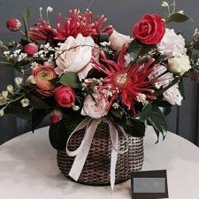 사랑을 전하는 꽃바구니
