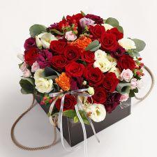 럭셔리 로즈 꽃박스