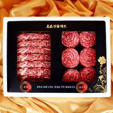 수입 갈비정육 혼합세트3호-4.6kg (LA갈비2.3kg+불고기2.3kg)