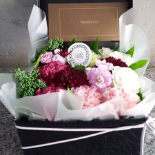 생화 꽃박스+용돈박스