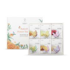 꽃차 나비티백 6종 선물세트
