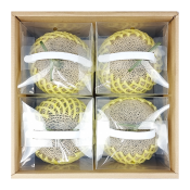프레시벨리 프리미엄 왕메론 선물세트 8kg (4통)
