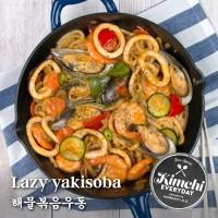Lazy yakisoba / 해물볶음우동