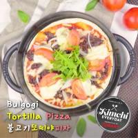 Bulgogi Tortilla Pizza / 불고기 또띠야 피자