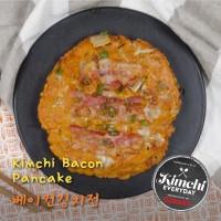 Kimchi Bacon Pancake / 베이컨 김치전