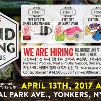 [Grand opening] Hmart Yonkers,  NY