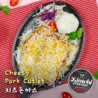 Cheesy pork cutlet / 치즈돈까스