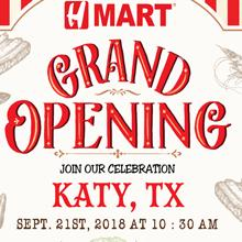 [Grand opening] Hmart Katy, TX