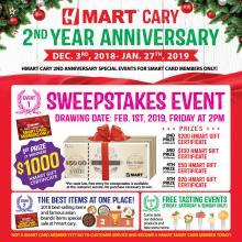 [H Mart Cary North Carolina] Congratulations to all the winners!