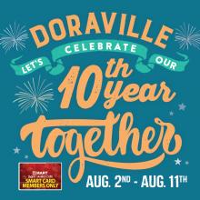 H Mart Doraville 10th Year Anniversary Event