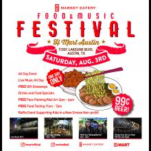 H Mart Austin Food and Music Festival