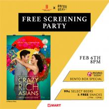 "H Mart Austin (TX) ""Crazy Rich Asians"" Free Movie Screening @ 8PM"