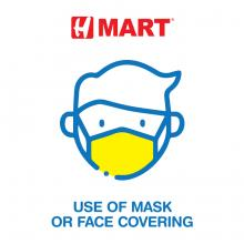 Use of Mask or Face Covering