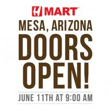 H Mart Mesa - Now OPEN!