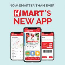 Now Smarter than Ever! H Mart's New App!