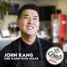 Chef John Kang at Food Rehab : Aged Kimchi Jjim with Pork Ribs