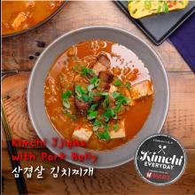 Kimchi Jjigae with Pork Belly / 삼겹살 김치찌개