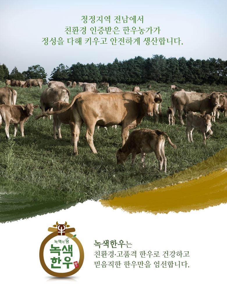녹색한우 한아름 사골세트 - 4kg (사골 4kg) 01