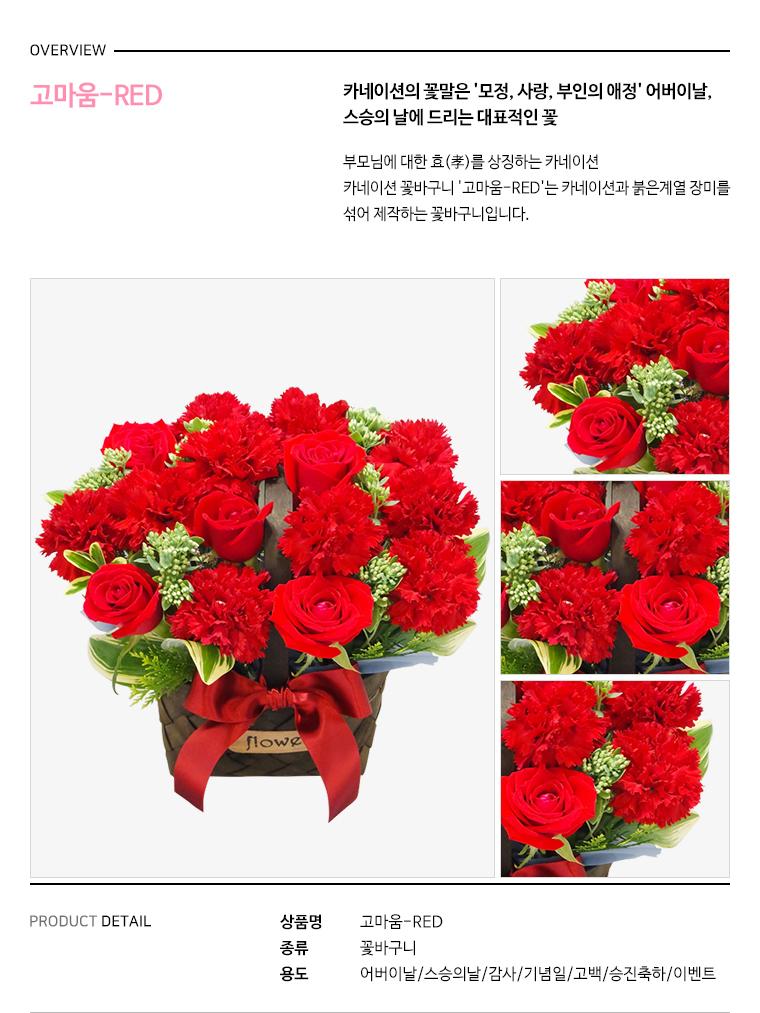 고마움 - RED